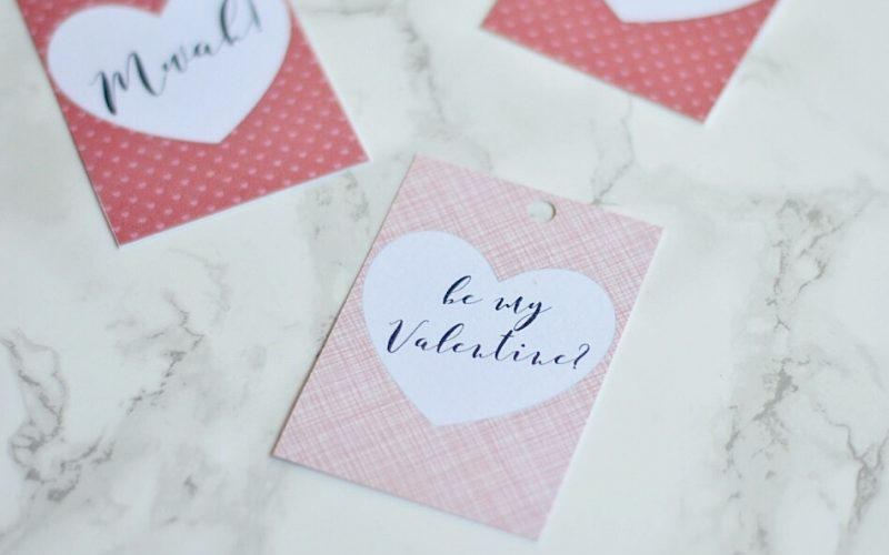 Create Easy & Free Valentine's Day Gift Tags using Picmonkey