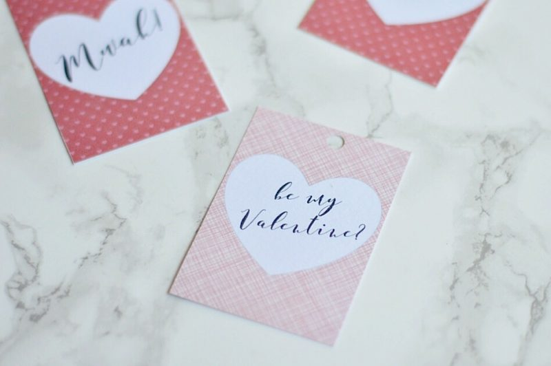 How to Make Free Valentines Day Gift Tags using Picmonkey